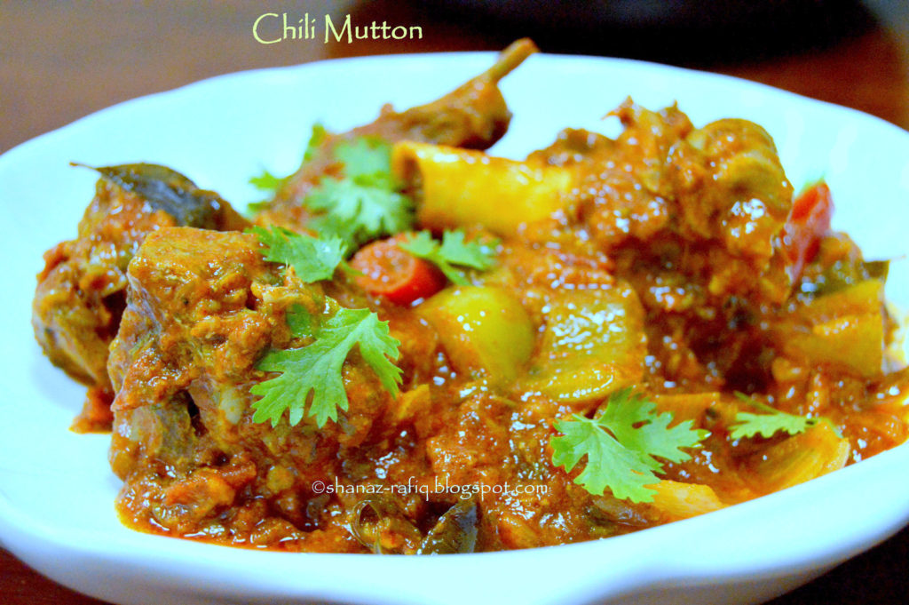Chili Mutton
