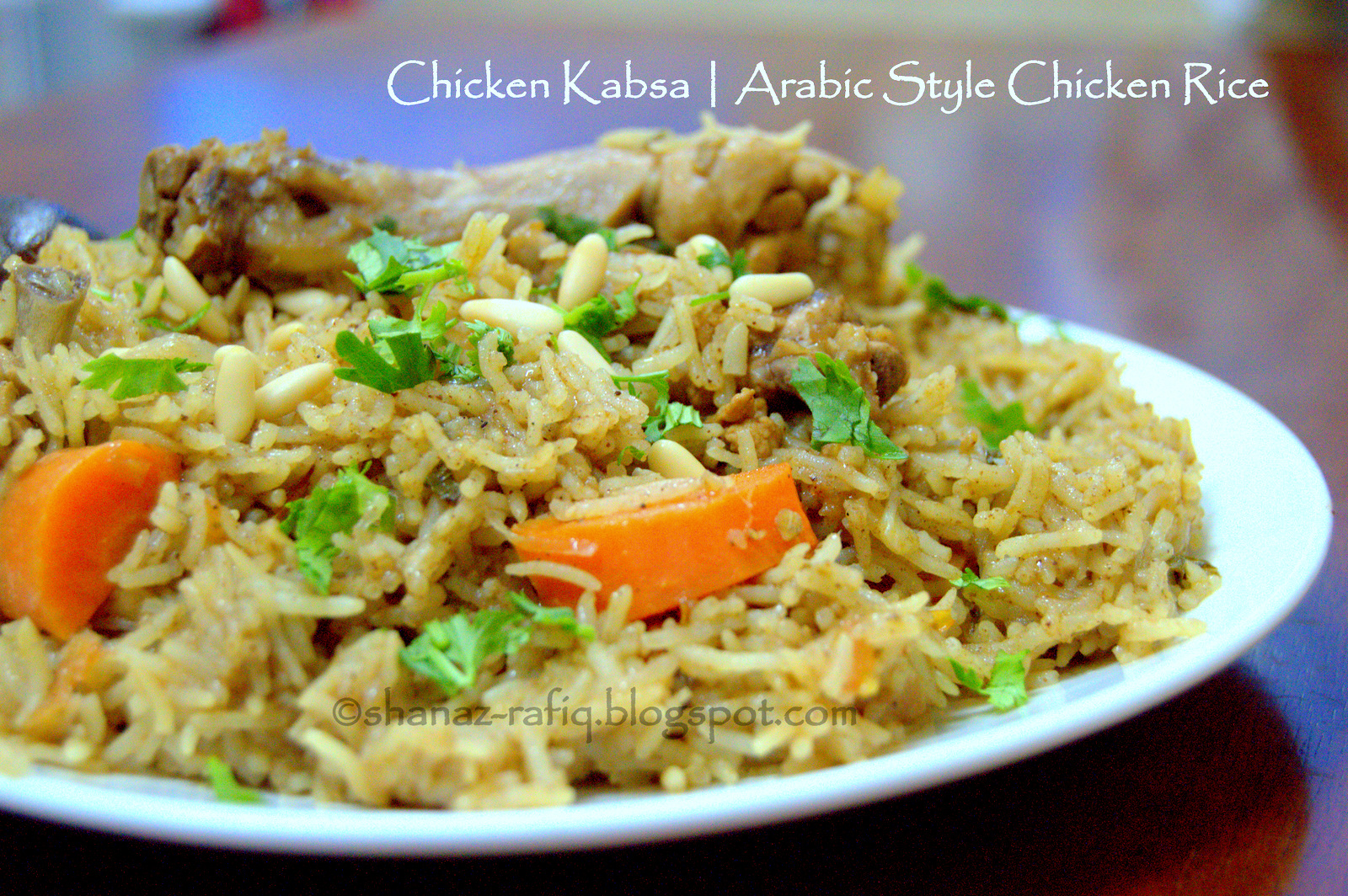 Chicken Kabsa Love To Cook