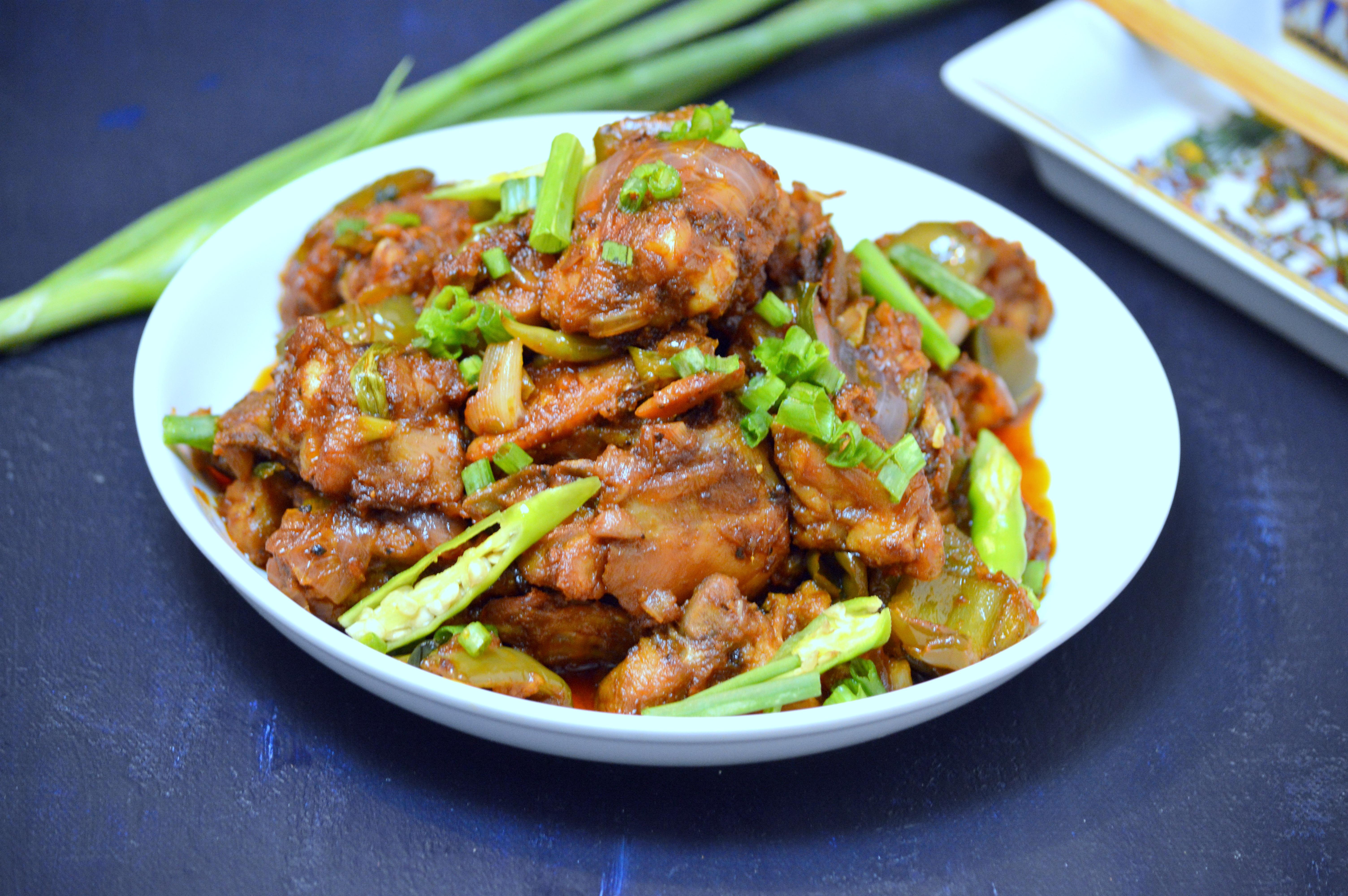 Chilli Chicken - Love To Cook