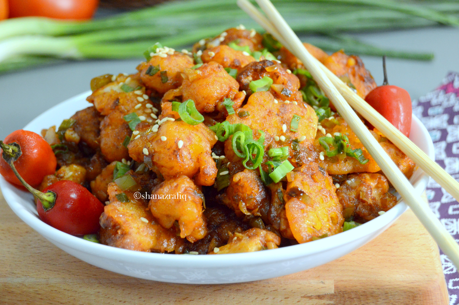Gobi Manchurian Dry Indo Chinese Cauliflower Stir Fry Love To Cook
