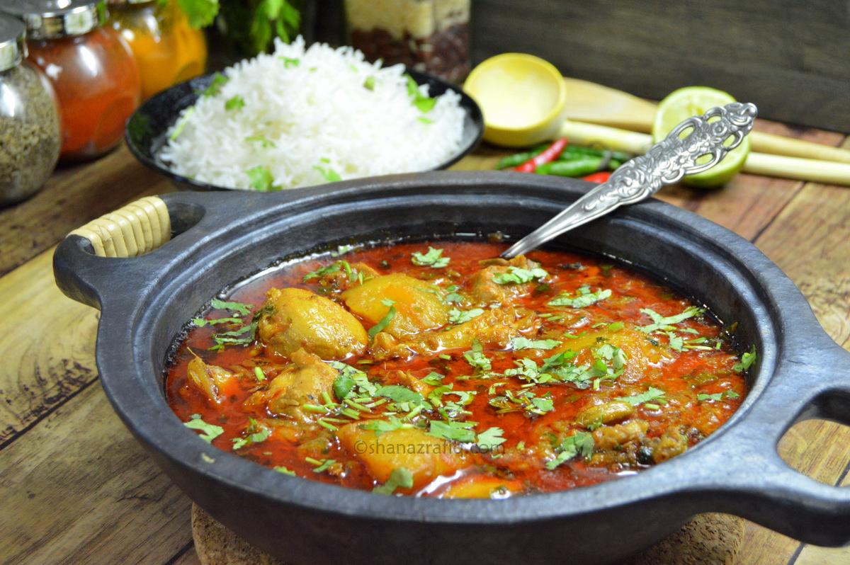 Chicken And Potato Curry Recipe